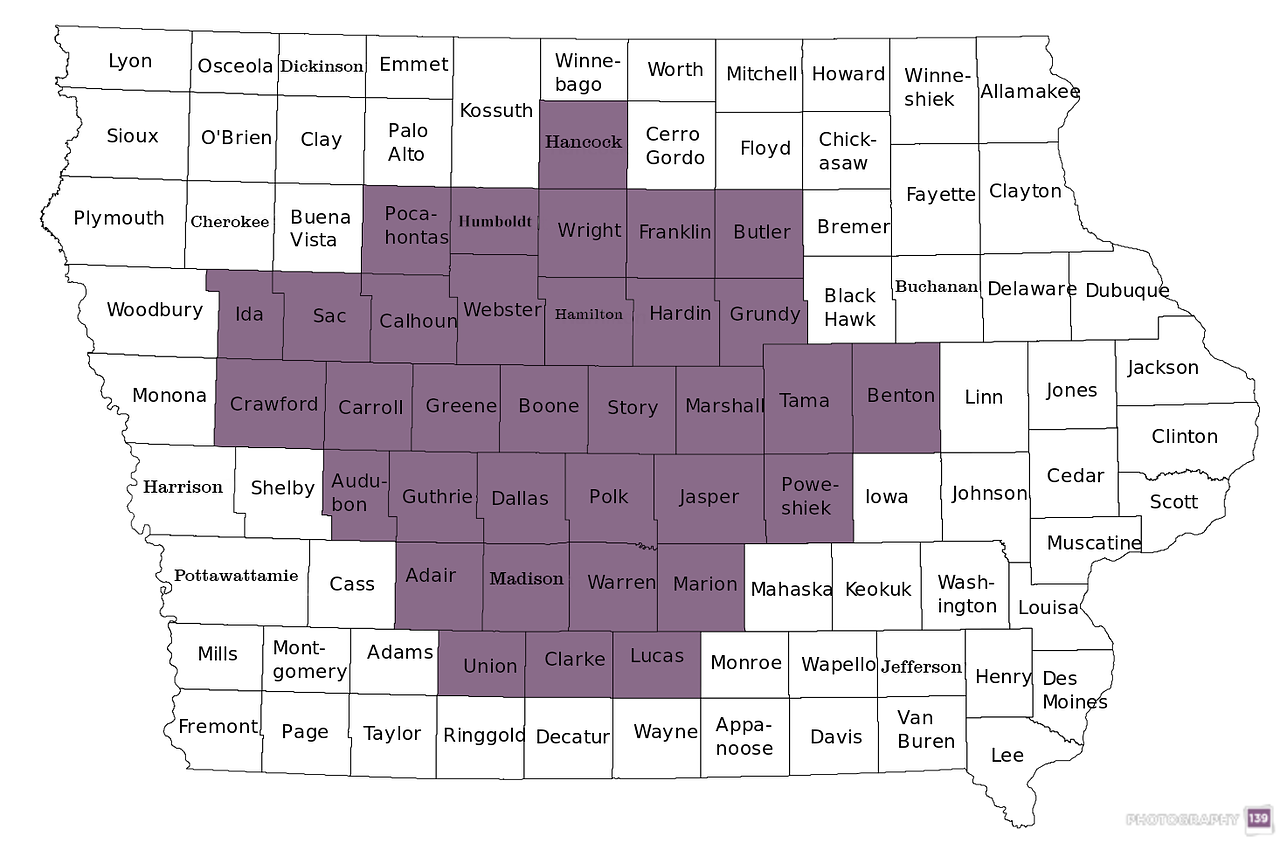 Town Sign Project - 34 Counties