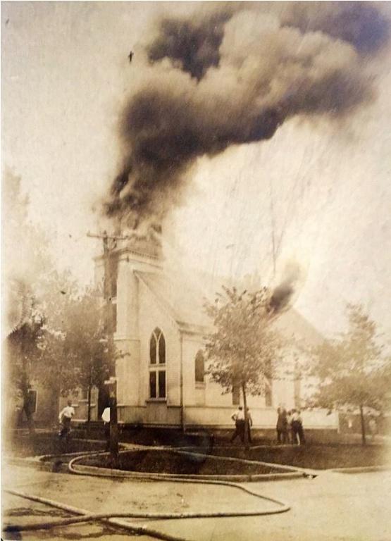 German Lutheran Fire