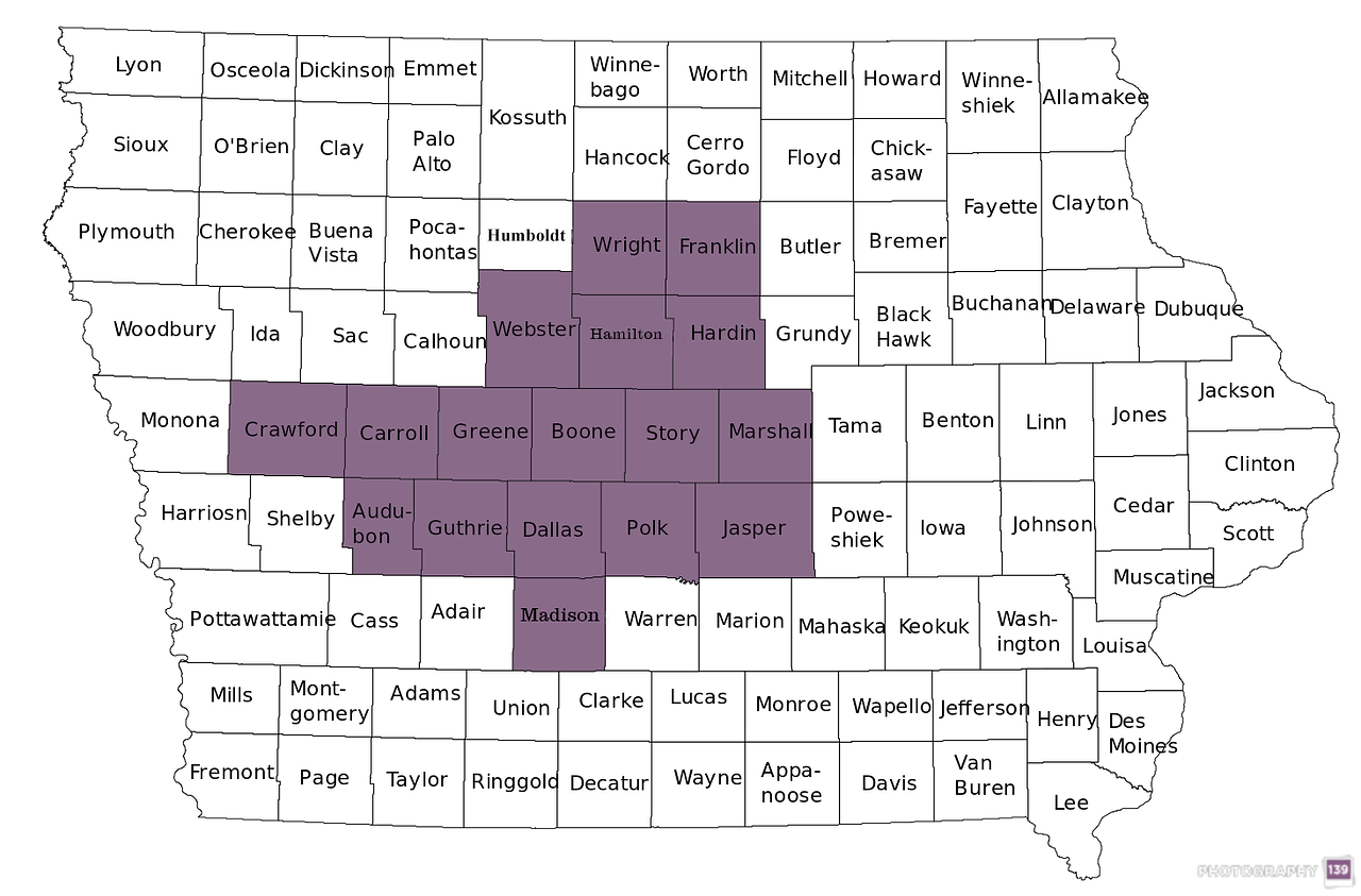 Town Sign Project - 17 Counties