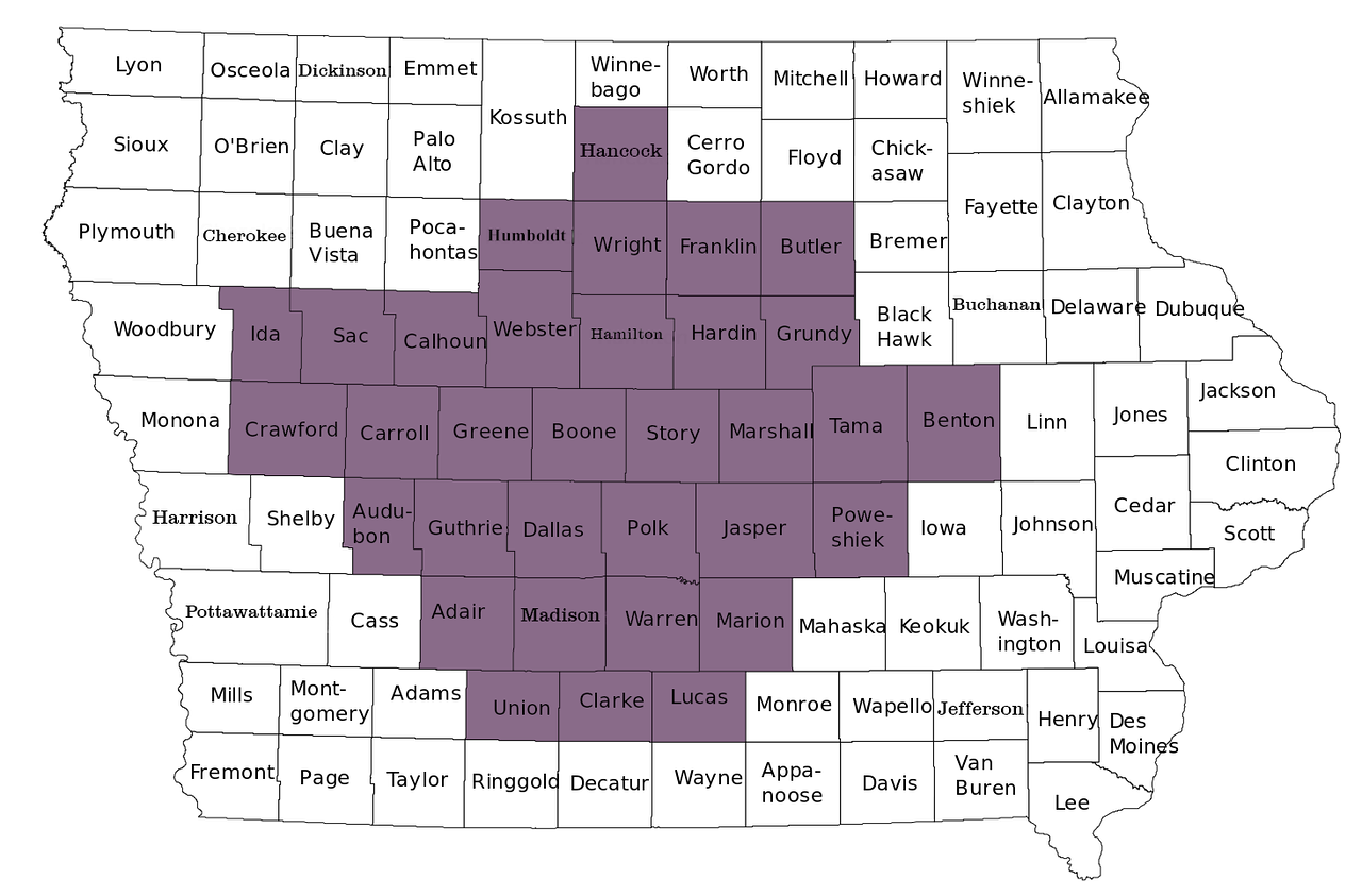 Town Sign Project - 33 Counties