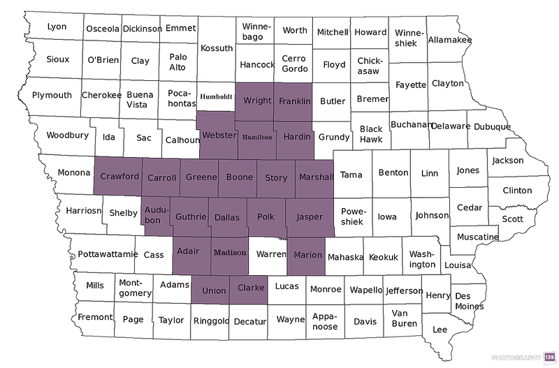 Town Sign Project - 21 Counties