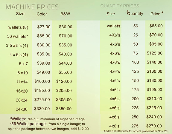 Machine Pricing 2014
