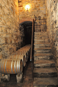 Wine cellar, Tuscany 2010