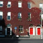 Door at Stephen's Green, Dublin