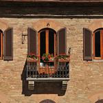Balcony, San Gimignano, Tuscany 2010