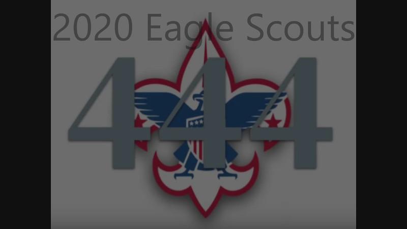2020 T444 Eagle Scouts
