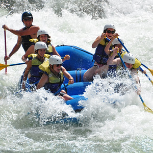 White Water Rafting in Tahoe, USA