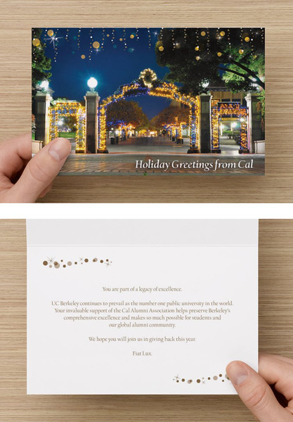 20,000+ California Alumni Association Holiday Cards