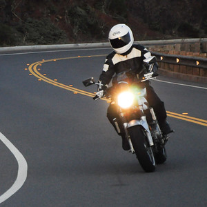 Motorcycling in California, USA