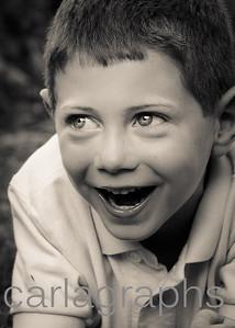 Jake Laughing Eyes Up BW Crop-9028