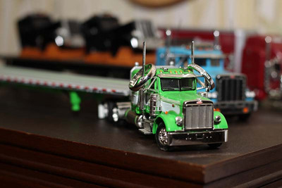 It led to this ring shot. These little model trucks were everywhere. So I took advantage and set up this shot.