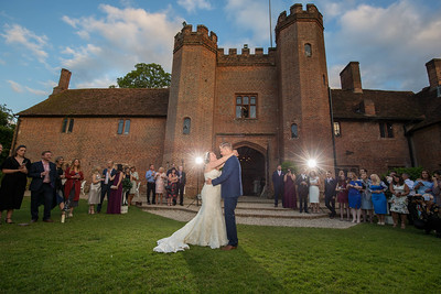 First Dance | outside at Leez Priory