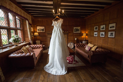 The Dress | The Dark Oak room at Leez priory