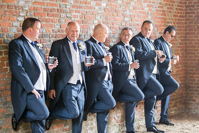 The boys | wedding photography at Leez Priory