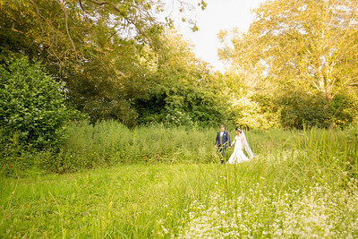 With 40 acres of grounds there is lots of opportunity for wedding photography at Leez Priory