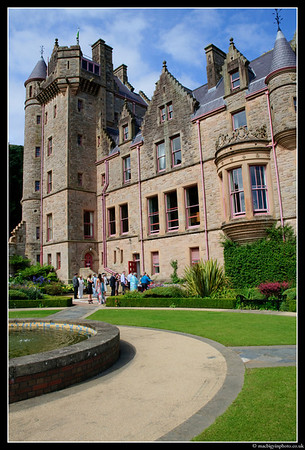 The reception of Chris & Karen Johnston, at Belfast Castle