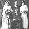 Otto (Pips) Langen and Annie Von Arx wedding   -  Joe Von Arx and Bertha Von Arx?