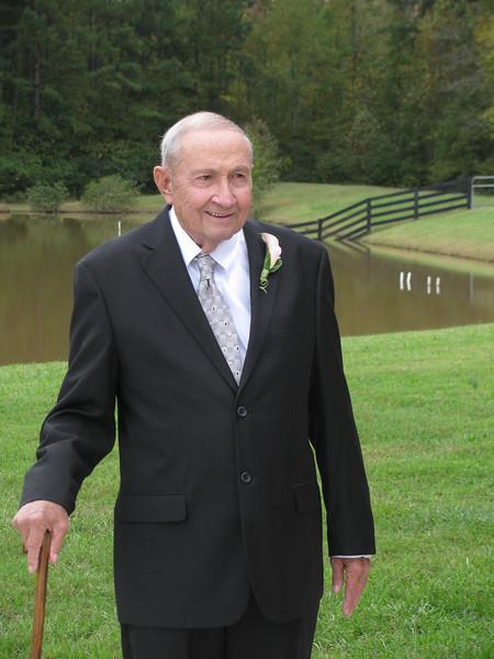 RIP Chuck Sr Burdeshaw Wedding Oct 2009, Atlanta GA Copyright Sue Steinbrook