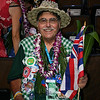 Hawaii Delegate at the Democratic National Convention in Denver, Wednesday August, 27, 2008. (Anne-Marie Taylor Lathrop)