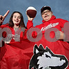 Rob Winner – rwinner@shawmedia.com<br /> <br /> Northern Illinois fans Caitlin Nottingham, 17, of Sycamore, and her great uncle Jerry Zakosek, of Maple Park, will be traveling with five other family members to Detroit for Friday night's MAC Championship.<br /> <br /> Maple Park, Ill.<br /> Thursday, Nov. 29, 2012