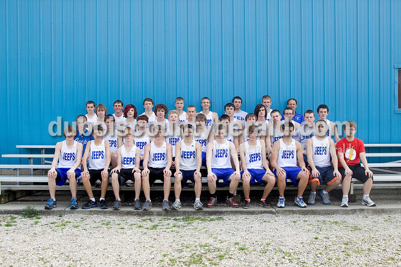 Members of the Northeast Dubois boys track team are, from left, first row: Jace Kahle, Takumi Mundy, Evan Betz, Luke Kerstiens, David Whippo, Andrew Dodd, Niklas Pohlmann, Christian Rossmann, Tommy Kelly and Joe Shimer. Second row: manager Zach Schepers, Donald Schepers, Zach Hulsman, Calvin Sander, Isaac Tuell, Dylan Arnold, Justin Kahle, Scott Roberts and Nick Goller. Third row: Jacob Hemmerlein, Joshua Priddy, Jeremy Hurt, Lucas Schulthies, Logan Brinkman, William Canary, Brent Deich and Ty Peek. Fourth row: Jalen Seger, Eli Smish, Tyler Haas, Ethan Kieffner, Alex Pund, Cody Newland, Alex Reutman and head coach Vic Betz.