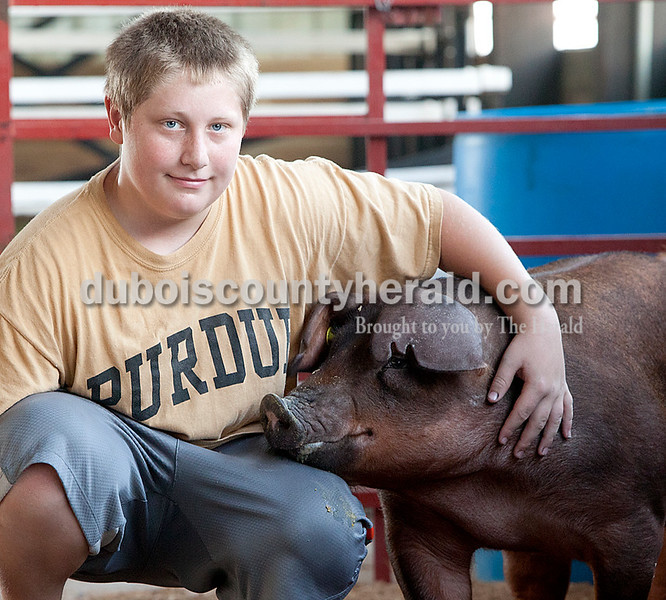 Connor Bowlin: senior champion showman