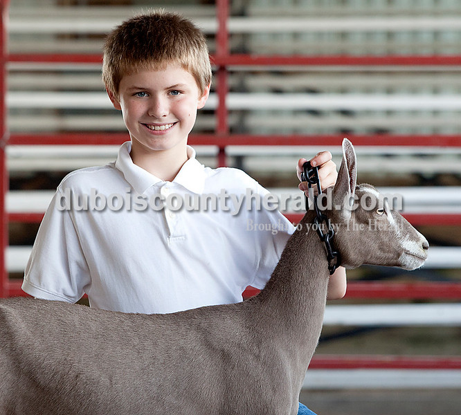 Luke Summerlot: grand champion dairy goat