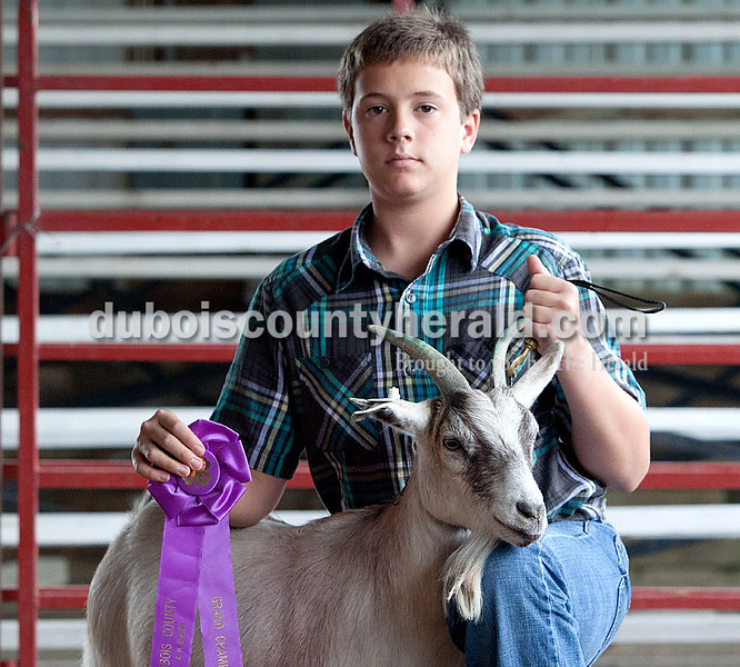Kyle Stenftenagel: grand champion pygmy goat