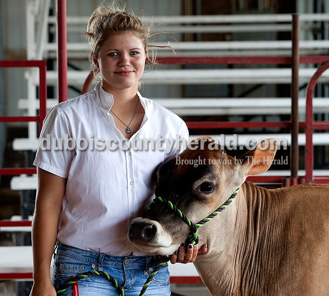 Laurn Englert: grand champion colored breed, master champion showman, supreme dairy showman
