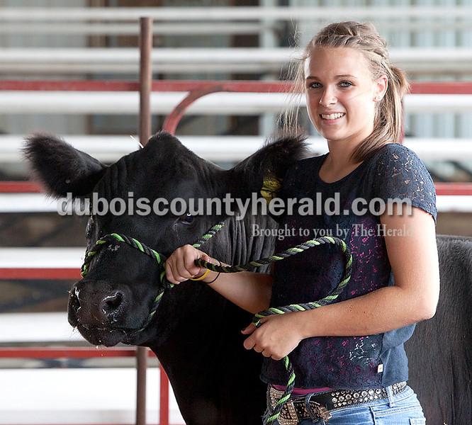 Michelle Helming: grand champion steer
