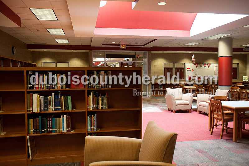 The new media center at Southridge High School. Rachel Mummey/The Herald