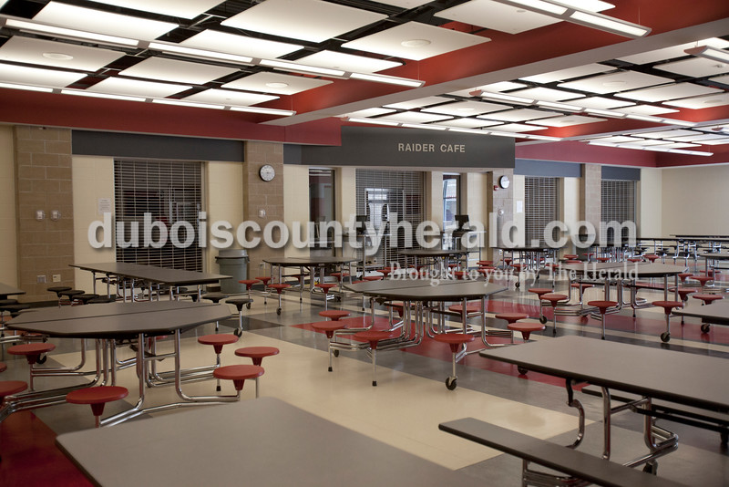 The new cafeteria at Southridge High School. Rachel Mummey/The Herald