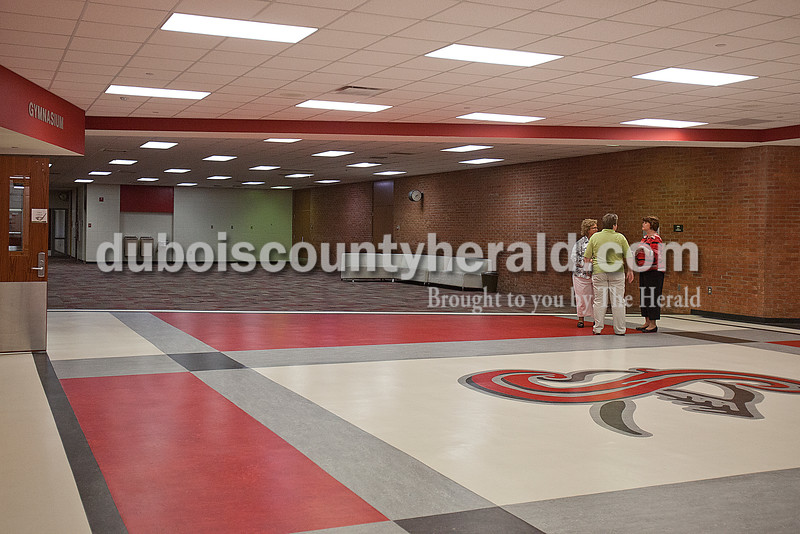 The new front foyer at Southridge High School. Rachel Mummey/The Herald