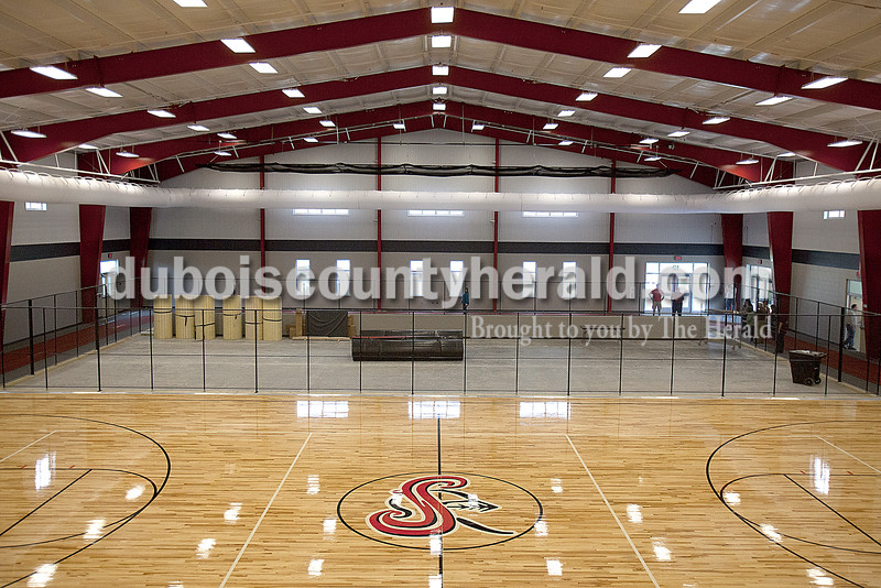 The new field house at Southridge High School will hold a weight lifting area in this facility once the equipment arrives. Rachel Mummey/The Herald