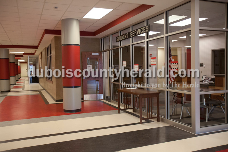 The new Student Services office and front foyer at Southridge High School. Rachel Mummey/The Herald