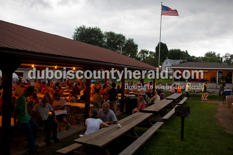 The annual Birdseye picnic drew a crowd to Birdseye Park on Saturday. Proceeds benefitted the Birdseye Fire Department and Parks Department.<br /> Caitlin O'Hara/The Herald