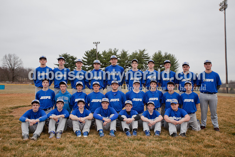 Members of the Northeast Dubois baseball team are, from left, first row: Alex Harder, Chase Riecker, Sidney Schott, Owen Fuhrman, Brandon Merkel, Case Eisenhut and Blake Ziegler. Second row: Jaxon Denu, Jaden Brosmer, Zach Bleemel, Reid Haas, Nolan Rasche, Bryce Butler, Cayden Knies, Parker Zehr and Alex Bauer. Third row: Keigan Meyer, Peyton Hurt, Evan Bauer, Jacob Gress, Eric Dodson, Griffen Bauer, Cole Scherzinger, Drew Jacob, Brayden Wineinger and Reece Helming.