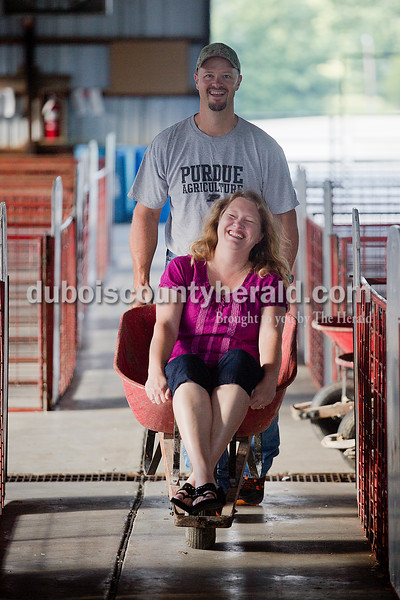 Daryl and Jennifer Kluemper of Jasper.