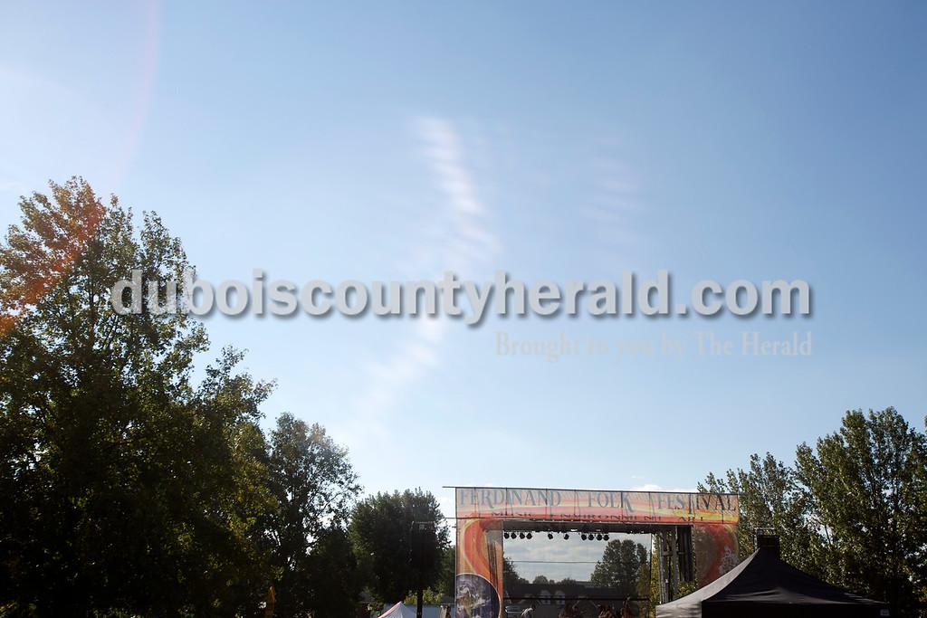 Erica Lafser/The Herald<br /> Ferdinand Folk Festival took place on Saturday at 18th Street Park in Ferdinand.