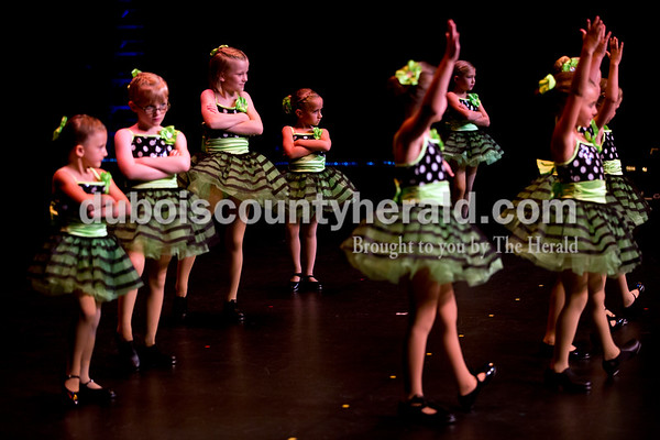 """Sarah Ann Jump/The Herald Dancers performed during Sunday's Dance Central Academy of Performing Arts """"Got 2 Dance"""" recital at Jasper Arts Center."""