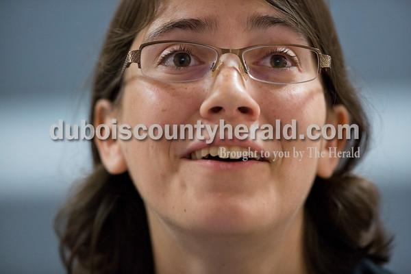 Sarah Ann Jump/The Herald Jenna Steltenpohl of Ireland, 19