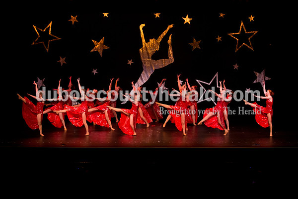 """Sarah Ann Jump/The Herald Dancers performed to the song """"Hello"""" by Adele during Sunday's Dance Central Academy of Performing Arts """"Got 2 Dance"""" recital at Jasper Arts Center."""