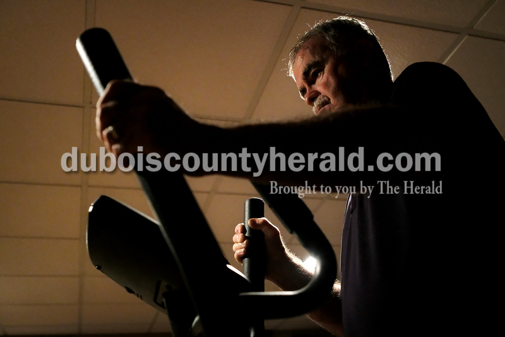 Exercise is one of the few things that is found to help slow down the progression of Parkinson's. Like most mornings, Steve started out his day Wednesday by doing about 15 minutes of stretching followed by about 15 minutes on his elliptical in his basement.