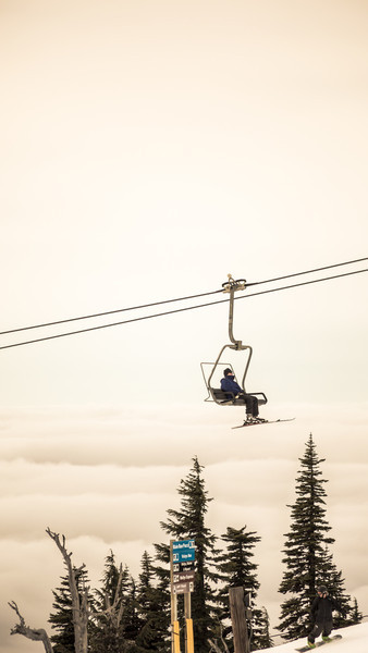 sittin on the clouds week 6: up to Timberline