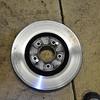 worn old rotor