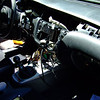 removed gauges, radio, HVAC controls