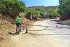 Griffith Park Bike Ride - Start of the road that is closed to cars (Vista del Valle)