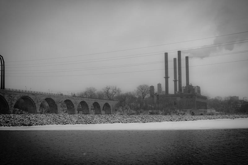 Stone Arch Bridge<br /> Minneapolis, MN