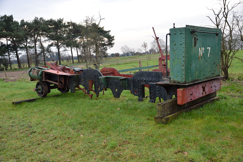 No7 / 2038 2-4-0T 'Tynwald' in a rather sorry state. Ex Southwold Railway i am told   13/02/16.
