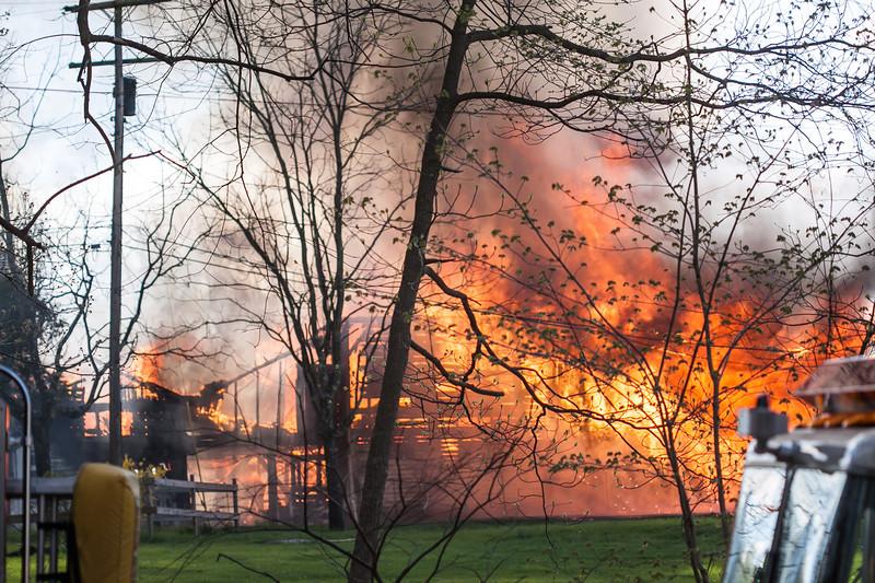 West Amwell Barn Fire-Apr2013-9438